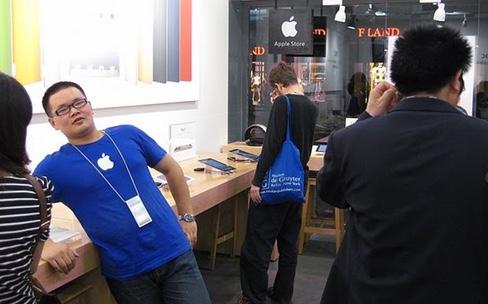 En Chine, les clones d'Apple Store se préparent au rush de l'iPhone 6s