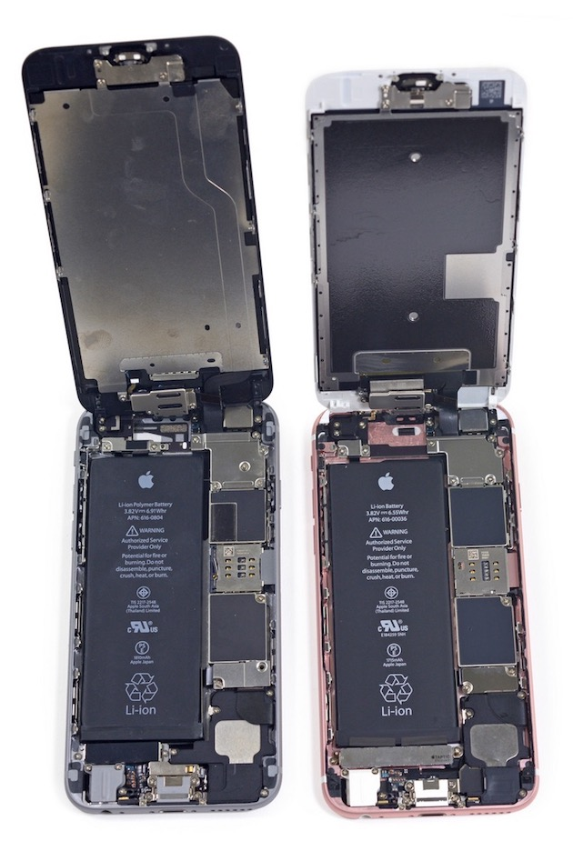 L 39 iphone 6s d mont et son taptic engine pass aux rayons for Interieur iphone
