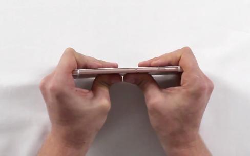 Pas de bendgate pour l'iPhone 6s, c'est sûr
