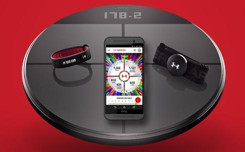 Healthbox, une solution sportive complète pour HTC et Under Armour
