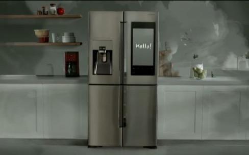 Samsung invente le réfrigérateur qui fait aussi les courses