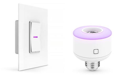 homekit prise lectrique ampoule et interrupteur chez idevices igeneration. Black Bedroom Furniture Sets. Home Design Ideas