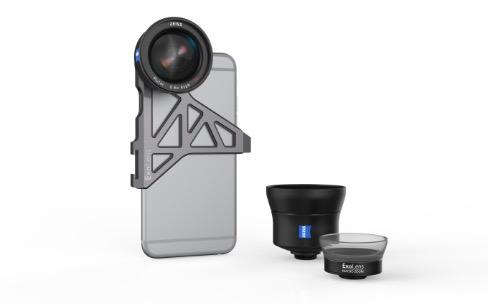 Exolens/Zeiss: de nouvelles optiques adaptées à l'iPhone7