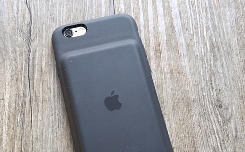 Test de la Smart Battery Case d'Apple pour iPhone6et6s