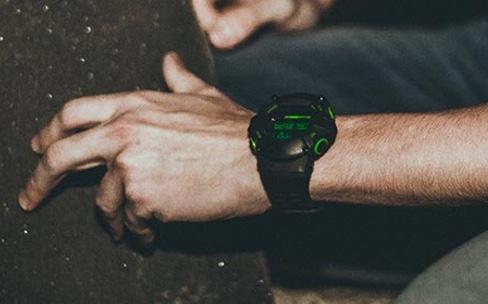 Nabu Watch : un chronographe numérique chez Razer