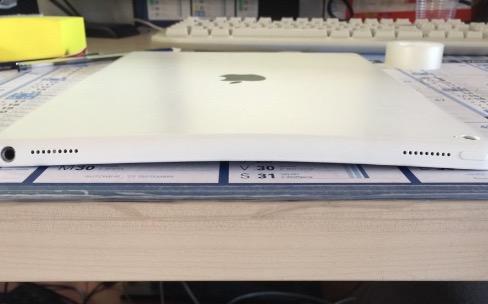 Oui, l'iPad Pro plie bien !