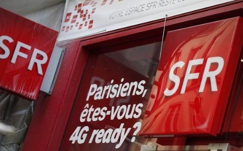 SFR veut devenir leader du très haut débit, y compris sur la 4G