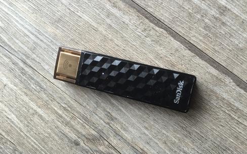 Test de la clef USB Wi-Fi SanDisk Connect