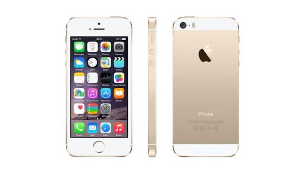 LiPhone 5s. Image Apple.