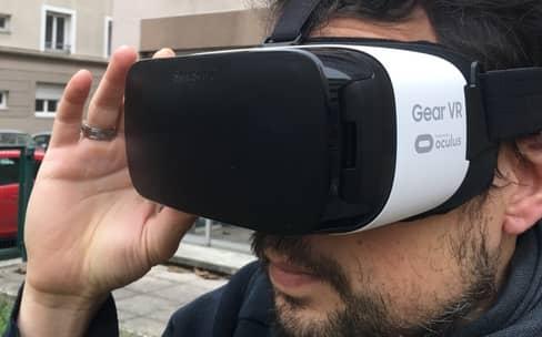 Test du Gear VR de Samsung