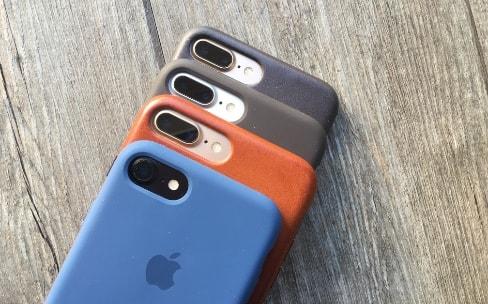 Quel étui Apple choisir pour l'iPhone 7 et l'iPhone 7 Plus?