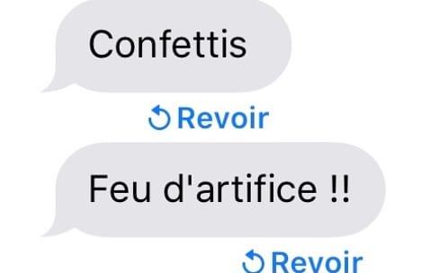 iOS10.1 bêta2 permet de revoir les effets de Messages