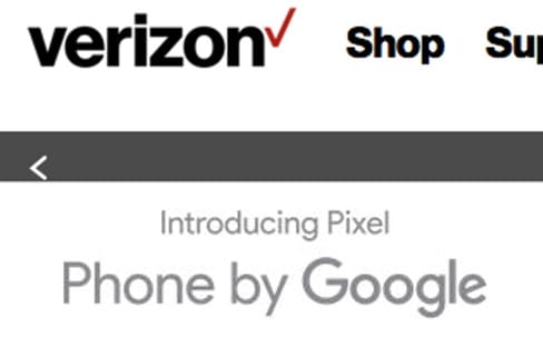 Pixel : Google a laissé beaucoup de place à Verizon