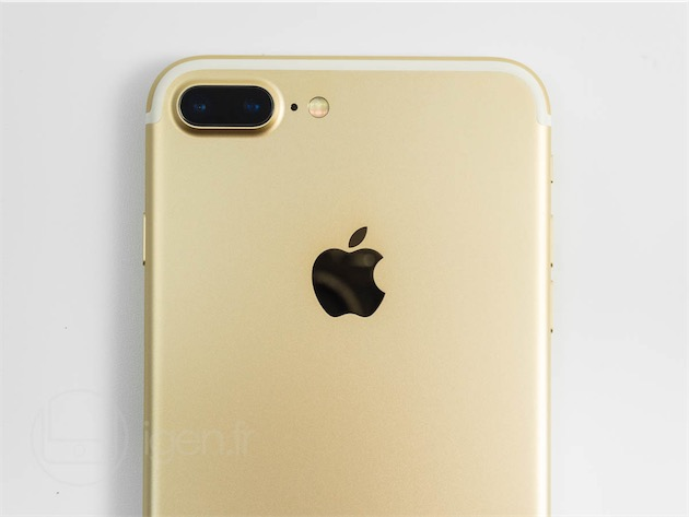 Le double objectif de liPhone 7 Plus.