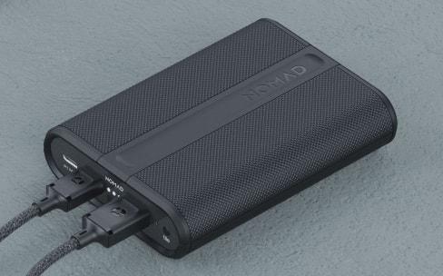 Nomad PowerPack: une batterie externe robuste et géolocalisable