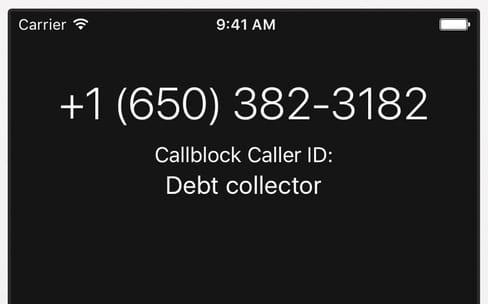 Les bloqueurs d'appels non désirés en panne d'App Store jusqu'à iOS 10.1