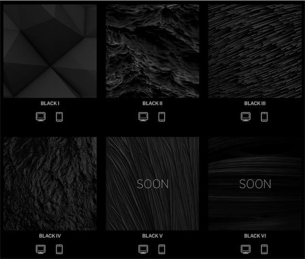 Des Fonds D Ecran Presque Noirs Pour Vos Mac Et Iphone Macgeneration