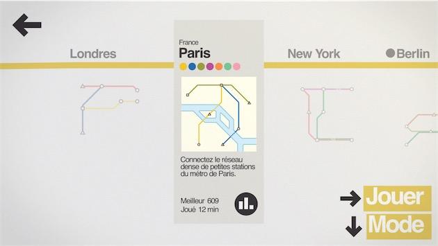 Toutes les cartes du jeu sont inspirées de vraies cartes de métro. Cliquer pour agrandir