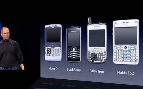 À quoi ressemblaient les smartphones avant l'iPhone de 2007?