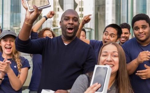 43% des iPhone vendus ce trimestre aux États-Unis seraient des 7 et 7Plus