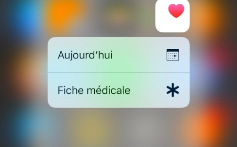 iOS10.1.1 corrige un bug dans Santé