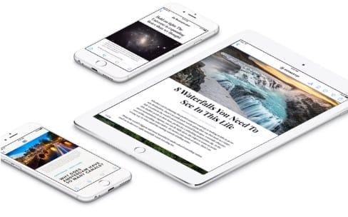 Changement de régie pub pour Apple News