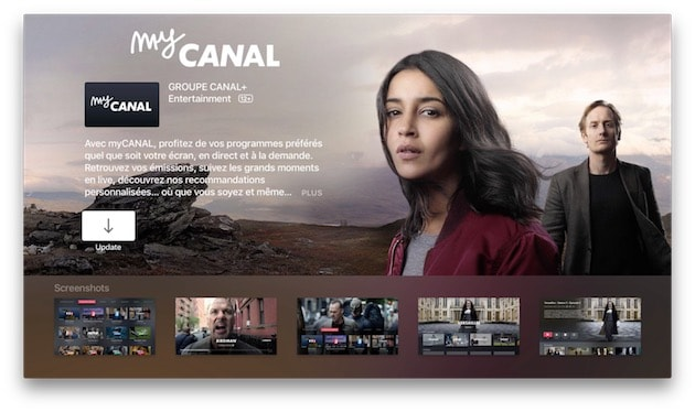 MyCanal Apple tv