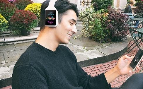 Vinci, le casque qui est aussi un smartphone