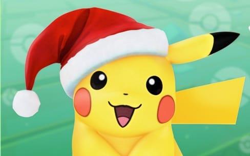 Pokémon GO : Pichu, Togepi et un Pikachu spécial Noël à attraper