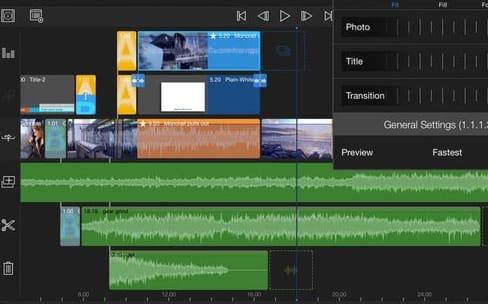 LumaFusion, une nouvelle application de montage «professionnelle» sur iOS