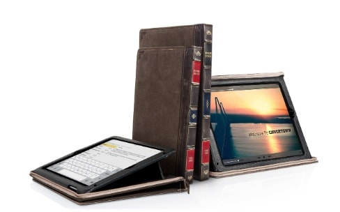 L'étui vintage BookBook adapté à l'iPad Air 2, à l'iPad mini 4 et bientôt à l'iPad Pro