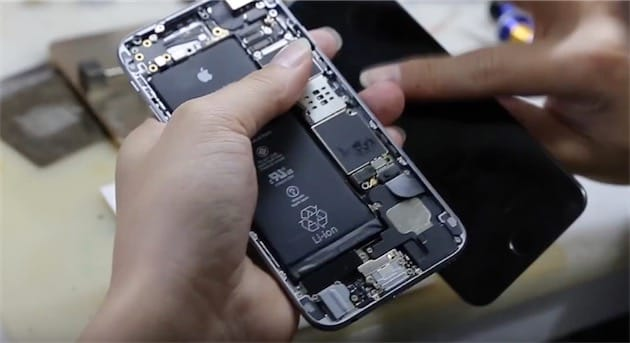patron demontage iphone 6s