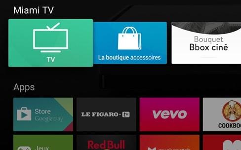 bbox miami android tv arrive en b ta publique igeneration. Black Bedroom Furniture Sets. Home Design Ideas