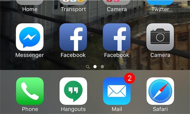 Saurez-vous distinguer l'application du site de Facebook?