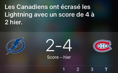 Siri veut améliorer ses résultats sportifs