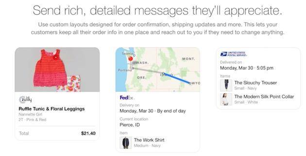 Voici à quoi pourraient ressembler les publicités dans Facebook Messenger.