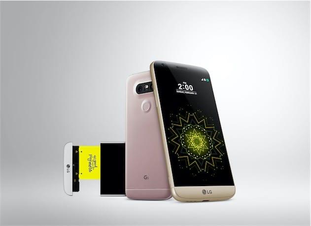 Le LG G5. Image LG.