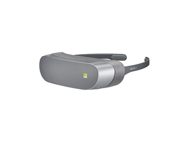 Le casque de VR. Image LG.