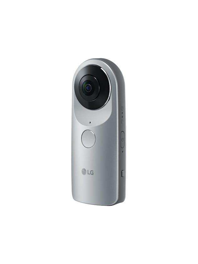La caméra 360°. Image LG.