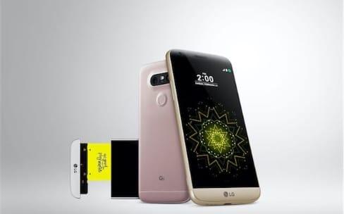 MWC 2016: LG présente le G5, un smartphone modulaire