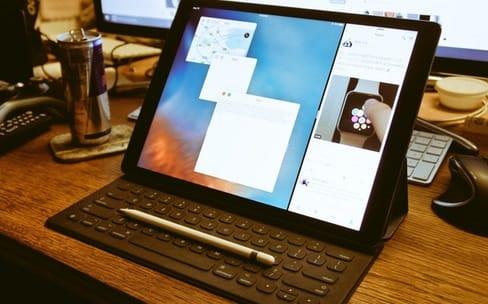 iPad Pro : Split View avec fenêtres redimensionnables