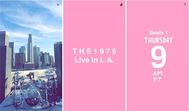 C'est aussi sur Snapchat qu'Apple Music a annoncé son premier concert.