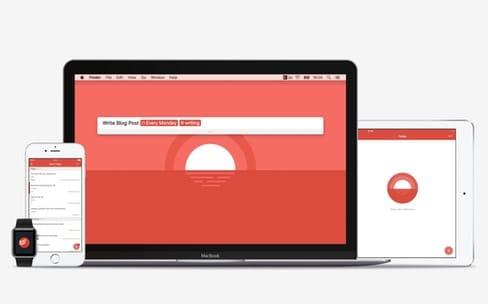 Todoist optimisé pour tous les écrans d'Apple