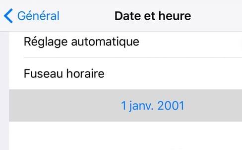 iOS 9.3 : la bêta 4 corrige le bug de l'année 1970