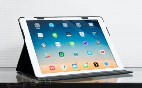 Aperçu de la housse Noreve en cuir pour iPad Pro