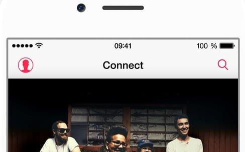 Apple Music : Connect à l'abandon