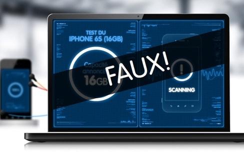 Belgique: une plainte contre le «mensonge» de la capacité de stockage de l'iPhone