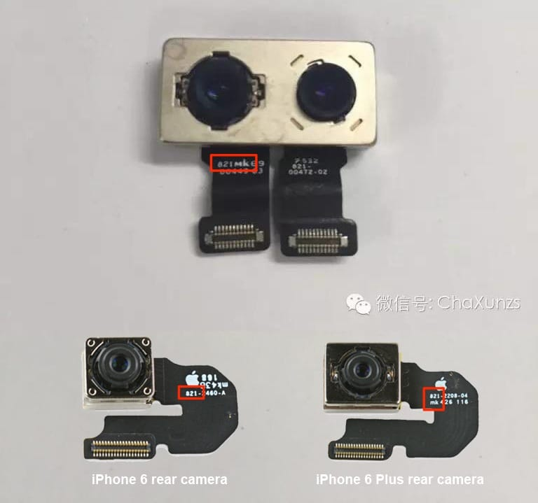 Iphone 7 une image du ch ssis avec un appareil photo for Portent tomtom