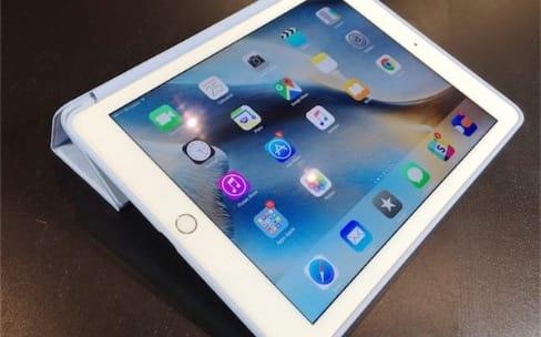 iPad Pro : premier aperçu de la coque en silicone et de la Smart Cover