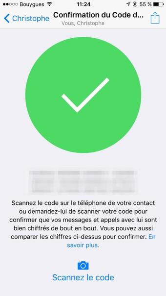 Comment utiliser le chiffrement dans whatsapp igeneration - Comment changer le code d un cadenas ...